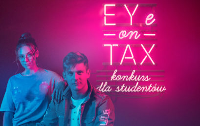 Konkurs EYe on TAX zgł. do 13XI
